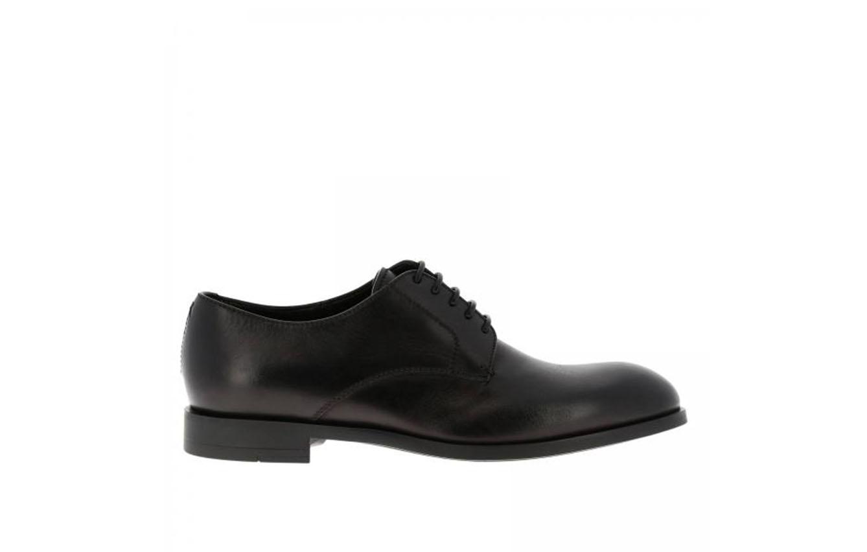 Zapatos de cordones de piel