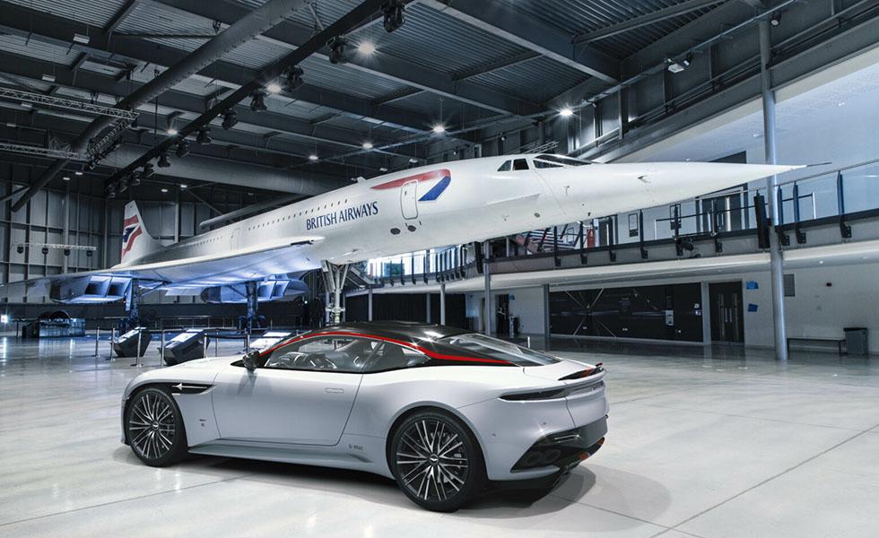 ¿Te imaginas un auto inspirado en un Concorde?Subtítulo
