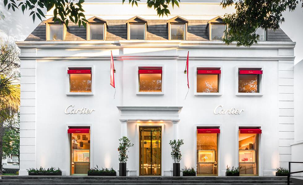 Así es la boutique más grande de Cartier en LatinoaméricaSubtítulo