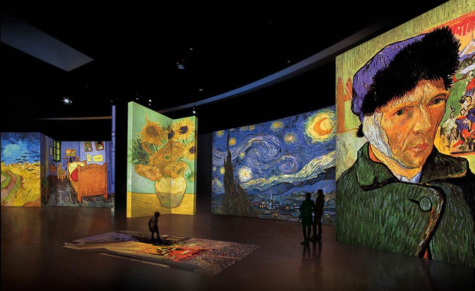 La experiencia de Van Gogh llega a MéxicoSubtítulo