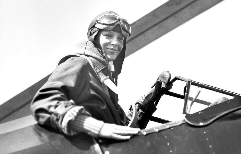 Amelia Earhart, (1897- 1937)