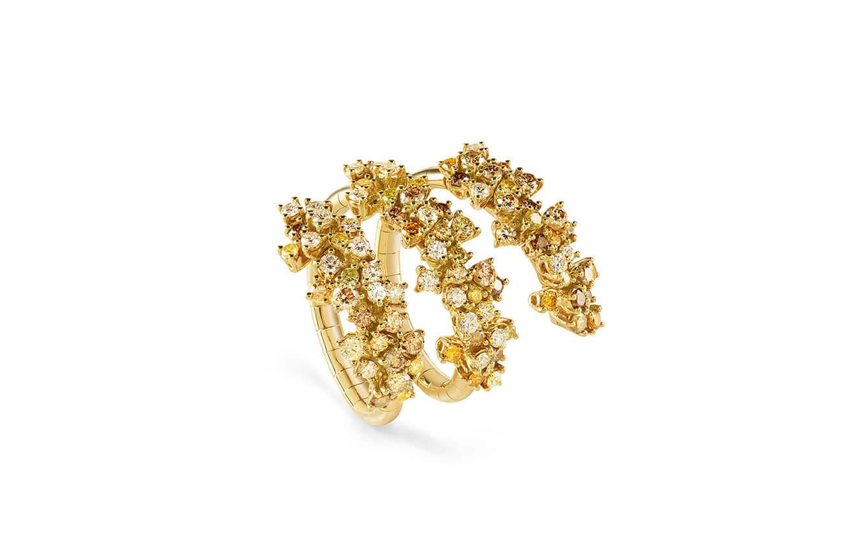 DAMIANI - Mimosa anillo en oro y diamantes
