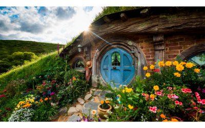 ¿Cómo es vivir en la casa de un hobbit?Subtítulo