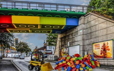 ¿Cómo sería una ciudad de LEGO en la vida real?Subtítulo