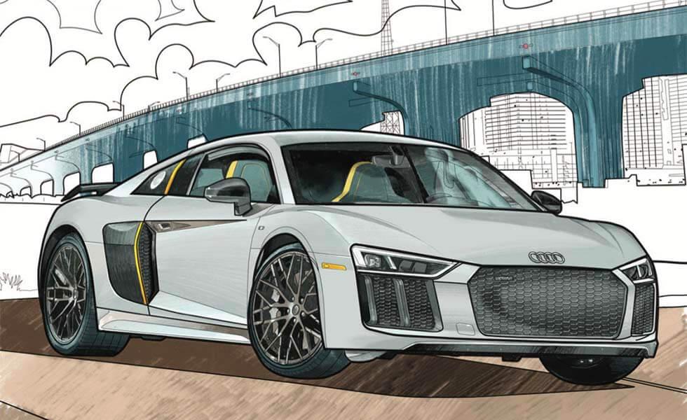 Audi te anima a dibujar en la cuarentenaSubtítulo
