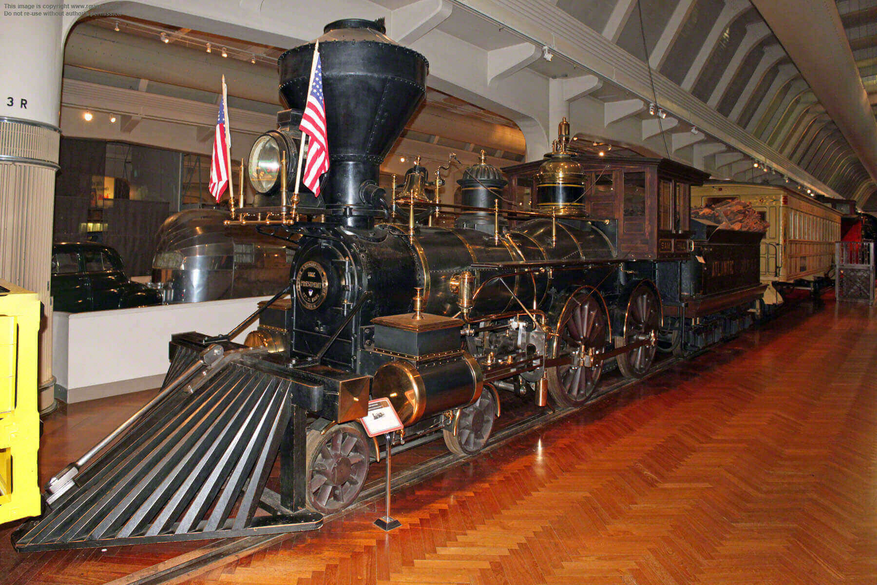 """Sam Hill"" Steam Locomotive"
