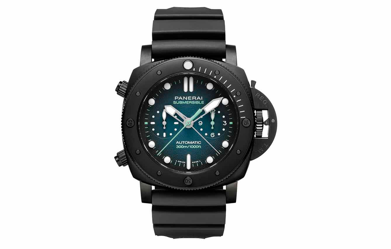 Panerai Submersible Chrono Guillaume Nery