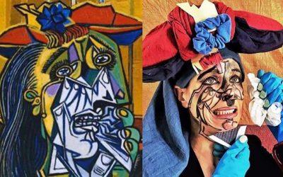 #QuédateEnCasa: ¿Puedes imitar las obras de arte más famosas?Subtítulo