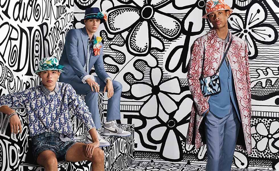 La moda se fusiona con el arte psicodélicoSubtítulo