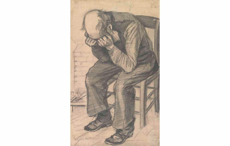 Anciano en pena (1882)
