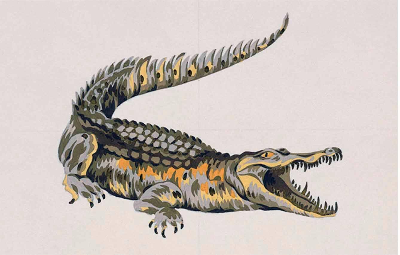 El cocodrilo se convierte en un símbolo