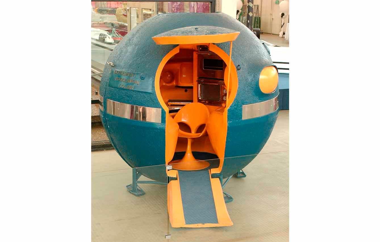 La 'Cocina esférica', de Luigi Colani