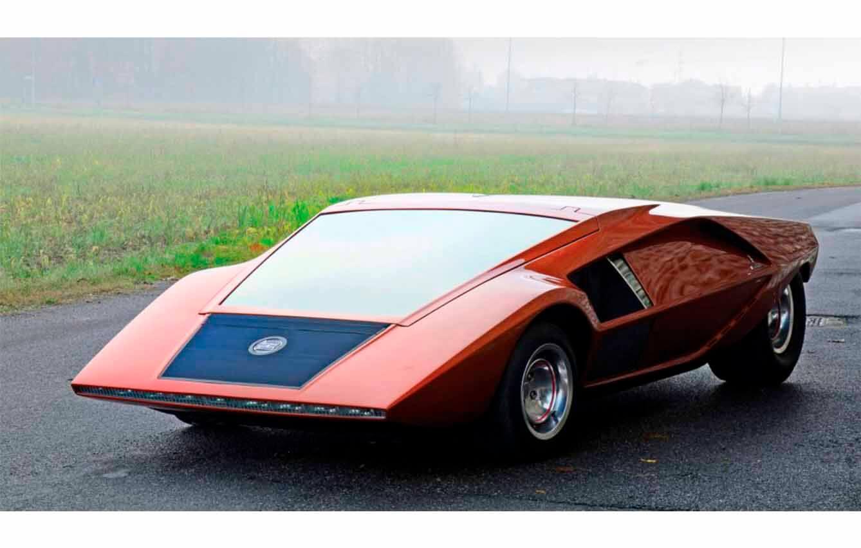 9.  Lancia Stratos Zero (1970)