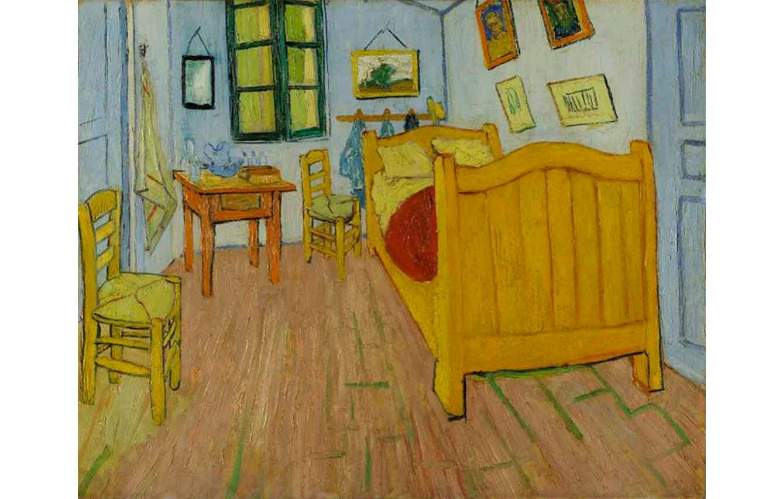 El dormitorio en Arlés (1888)