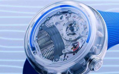 El reloj que te muestra el tiempo con fluidoSubtítulo