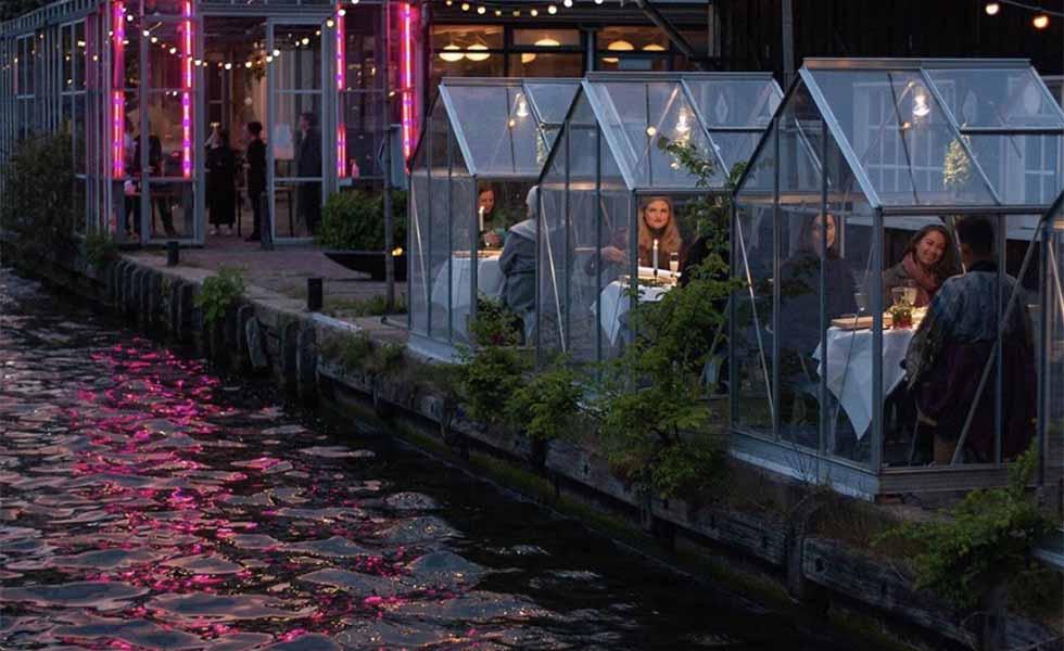Restaurantes 'invernadero' en tiempos de CoronavirusSubtítulo