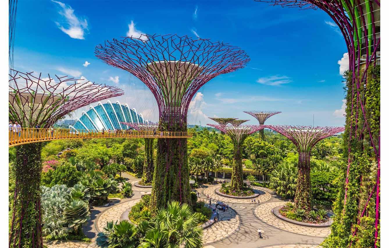 Gardens by the Bay – Singapur