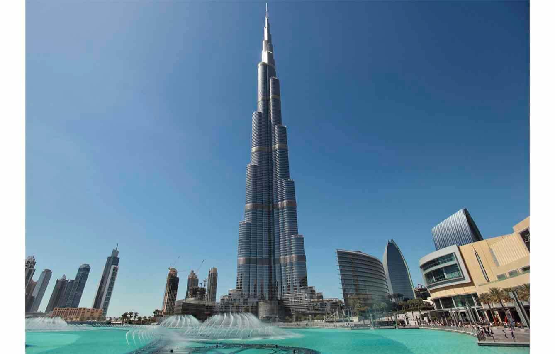 Burj Khalifa – Dubái, Emiratos Árabes