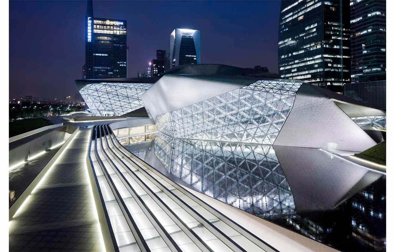 Guangzhou Opera House – Guangzhou, China