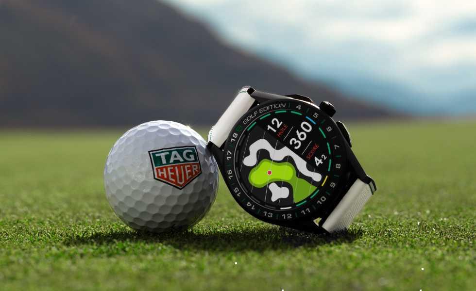 Todos los campos de golf en un relojSubtítulo