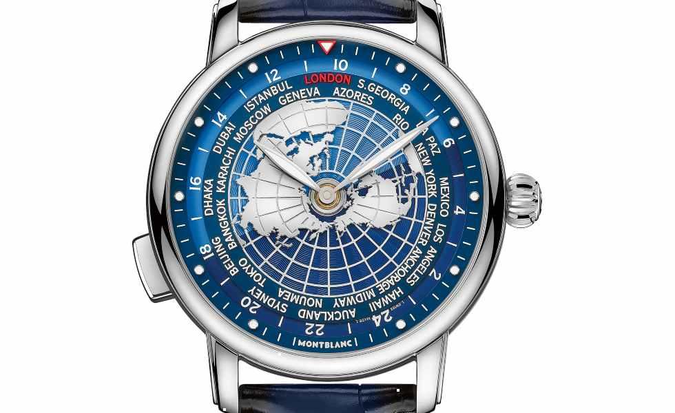 Montblanc presenta sus nuevos relojes para viajerosSubtítulo