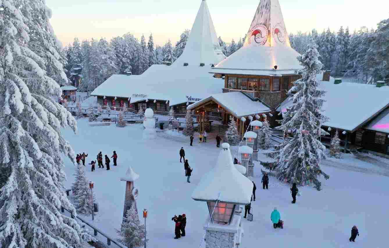 El pueblo de Santa Claus en Rovaniemi