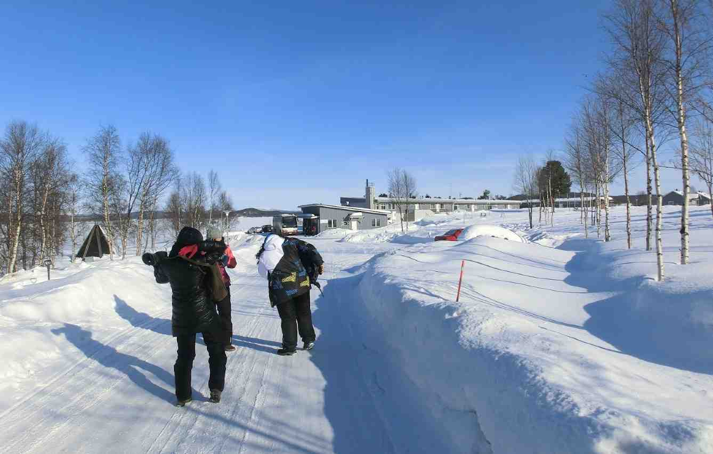 Senderismo en Laponia