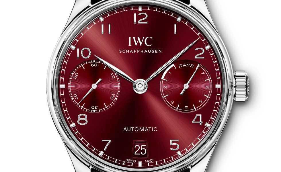 IWC presenta el Portugieser Automatic 40Subtítulo