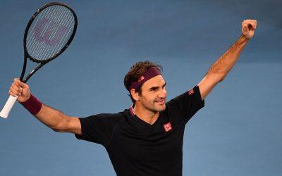 La sorpresa de Roger Federer a dos jóvenes tenistasSubtítulo