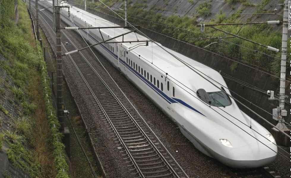 Japón presenta su nuevo tren balaSubtítulo
