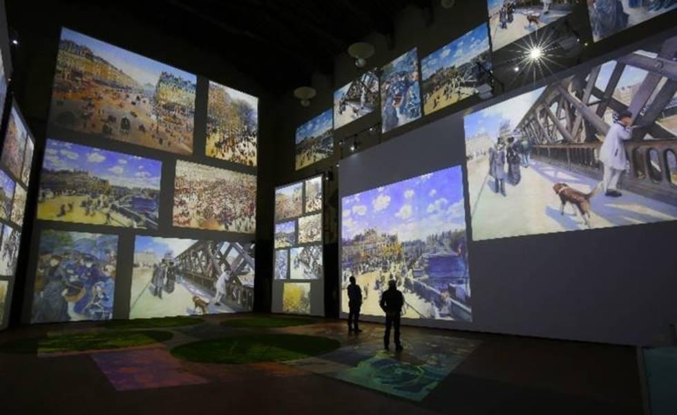 Se inaugura la exhibición 'Monet Experience & The Impressionists'Subtítulo