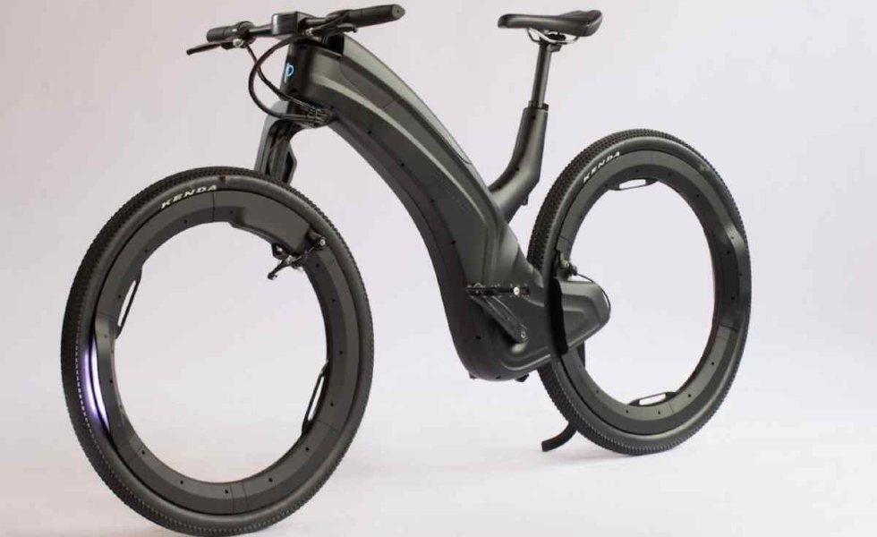 Reevo, la bicicleta eléctrica de diseño futuristaSubtítulo