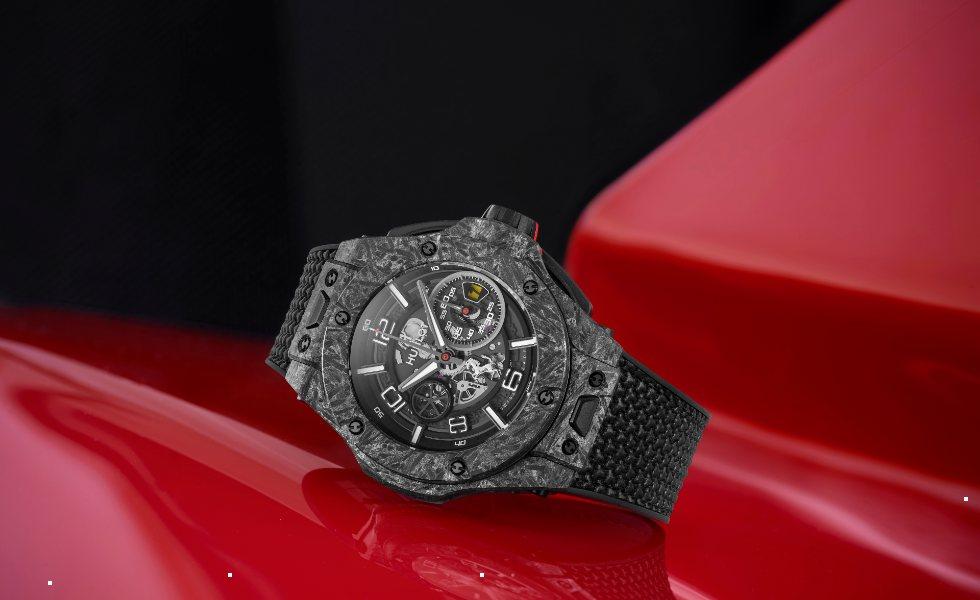 Hublot rinde homenaje al aniversario de Ferrari en F1Subtítulo