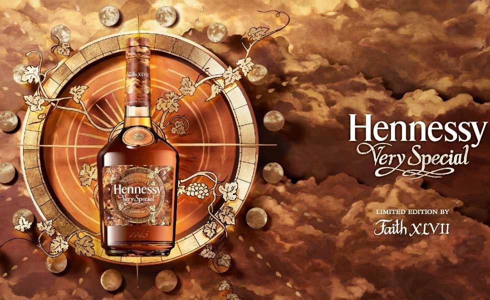 Hennessy y la artista Faith XLVII crean la décima edición limitadaSubtítulo