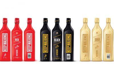 Johnnie Walker reinventa el diseño de sus botellas más icónicasSubtítulo