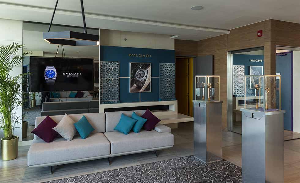 ¿Cómo es el showroom del BVLGARI Watch Experience?Subtítulo