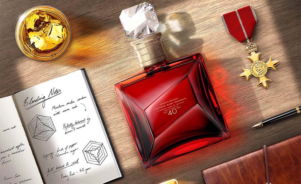 Johnnie Walker presenta el nuevo Master's Ruby ReserveSubtítulo