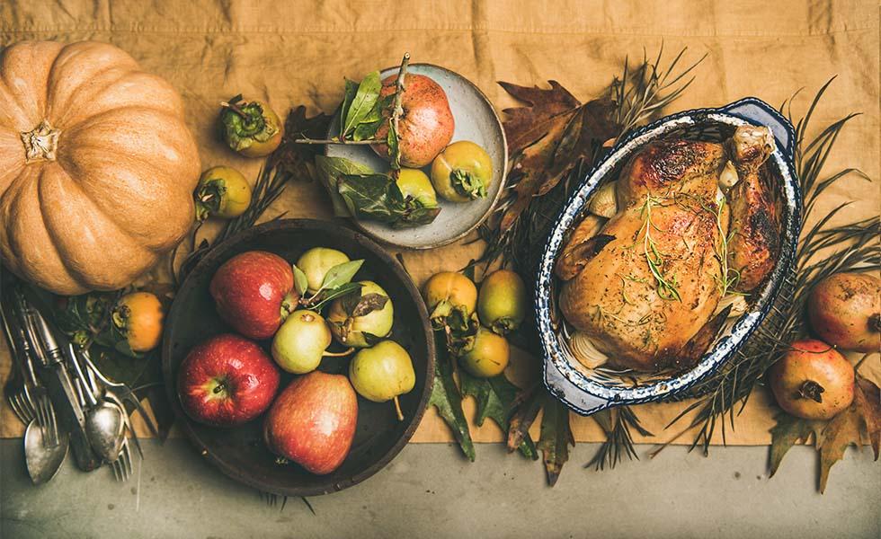 ¿Cómo se elabora el tradicional pavo relleno de Thanksgiving?Subtítulo