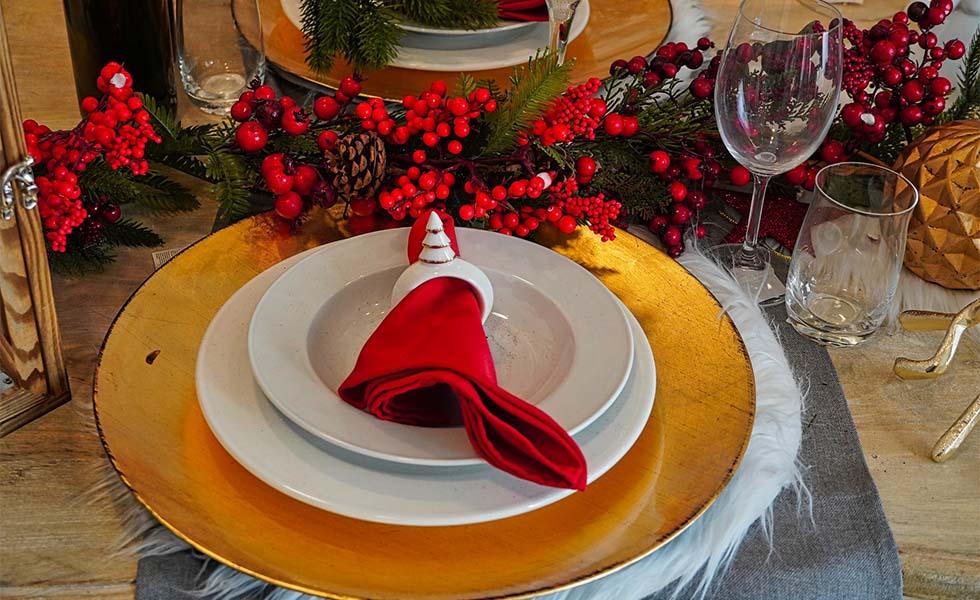 5 pasos para poner la mesa de Navidad perfectaSubtítulo