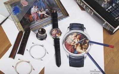 Este reloj resguarda una obra de arte del LouvreSubtítulo