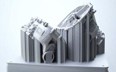 Porsche crea una carcasa de motor eléctrico con una impresora 3DSubtítulo