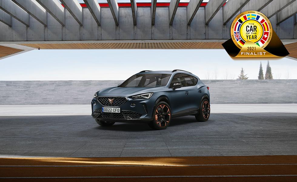 CUPRA Formentor, finalista del premio 'Car of the Year 2021'Subtítulo