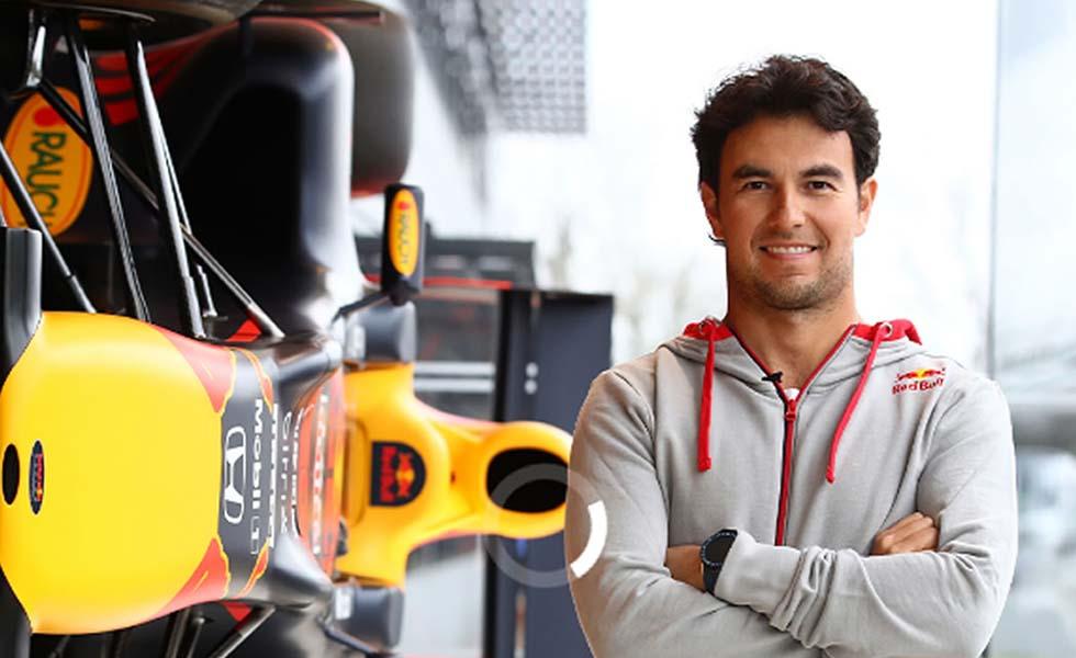 Así fue el primer día del mexicano 'Checo' Pérez en Red Bull RacingSubtítulo