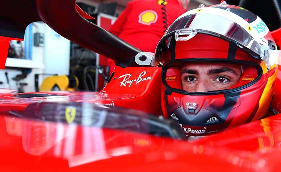 Así fue el primer día del español Carlos Sainz en FerrariSubtítulo