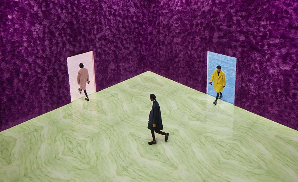 Prada presenta una colección de moda y sensibilidadSubtítulo