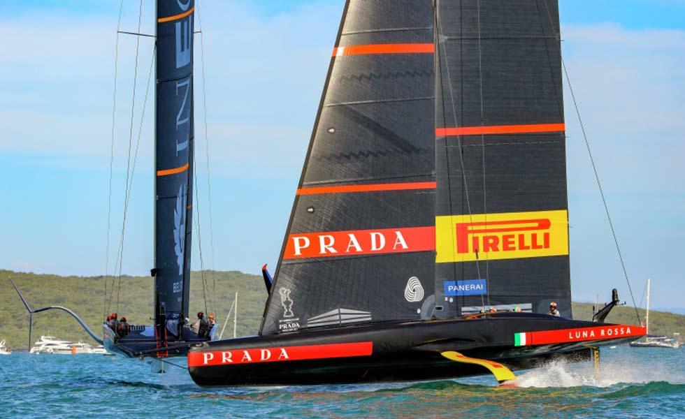 Luna Rossa Prada Pirelli gana la Prada CupSubtítulo