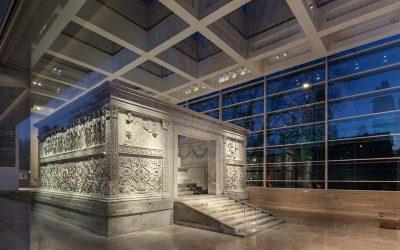 El museo Ara Pacis brilla más que nuncaSubtítulo
