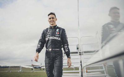 Esteban Gutiérrez, embajador de Mercedes-AMG Petronas F1Subtítulo