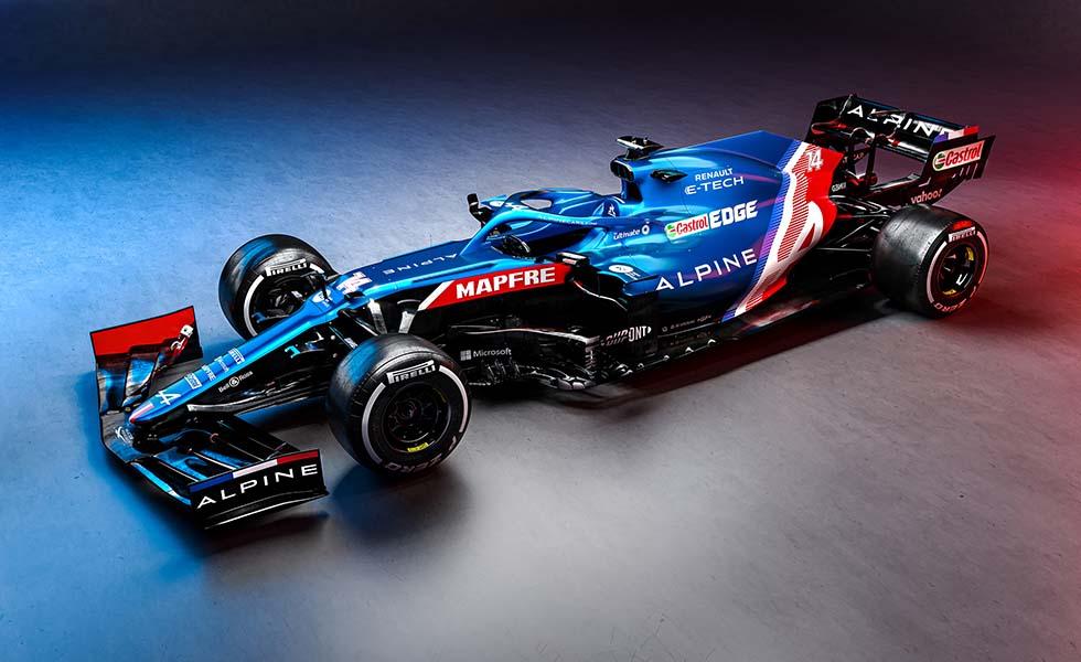 Así es el monoplaza de Fernando Alonso en su regreso a la F1Subtítulo