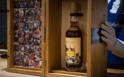 The Macallan subasta una de las 13 botellas más exclusivasSubtítulo